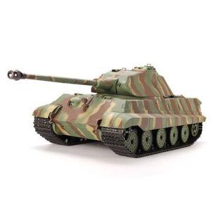 CAMION ENFANT Heng Long RC tank Char d'assaut du roi allemand Ti