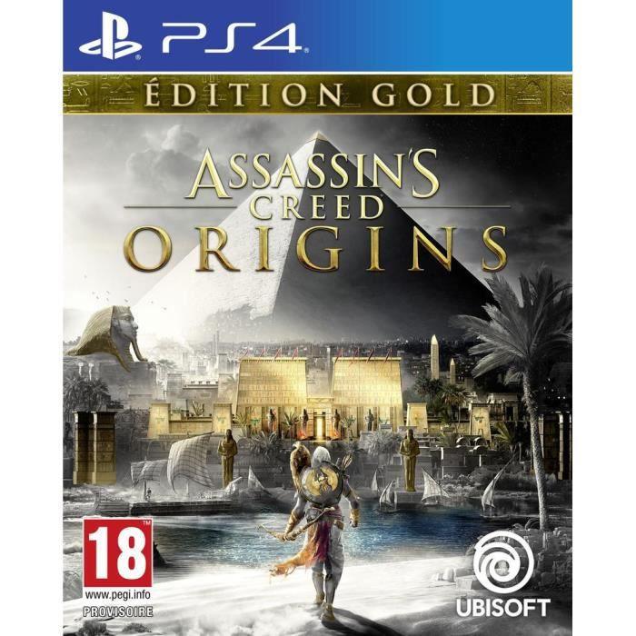 JEU PS4 Assassin's Creed Origins Édition Gold Jeu PS4