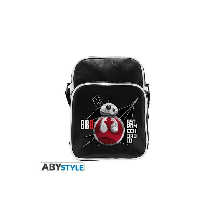Sac Besace Star Wars - BB8 E8 - Vinyle Petit Format - ABYstyle