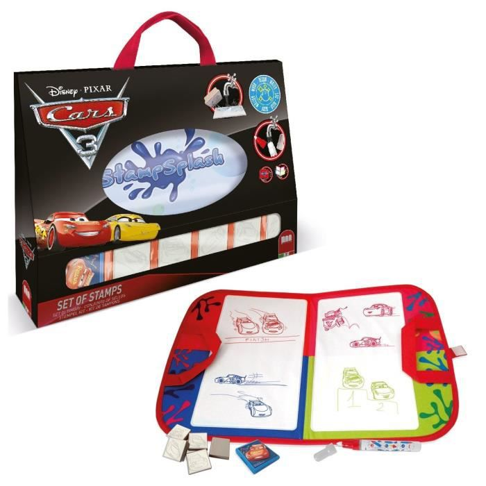 CARS 3 Stamp Splash - Kit de Loisirs Créatifs