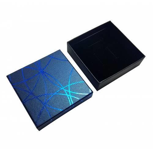 24 écrins pour parure de couleur bleu - 10023 Bleu Et Noir