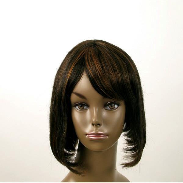 Perruque femme afro cheveux naturel mi longue