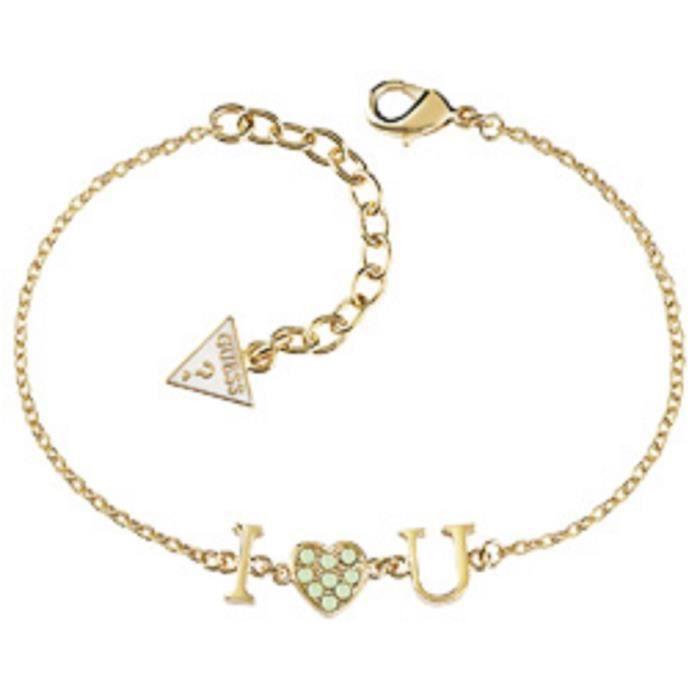Bracelet femme GUESS UBB61096-S. Doré. Métal rho