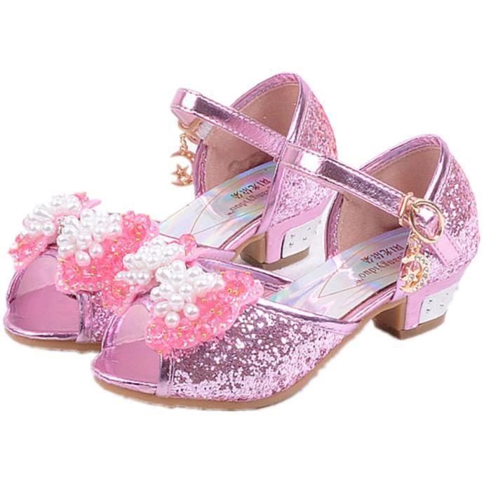 Princesse Rose Fille Sandale Enfant Pour Ballerines MVzqUGSp