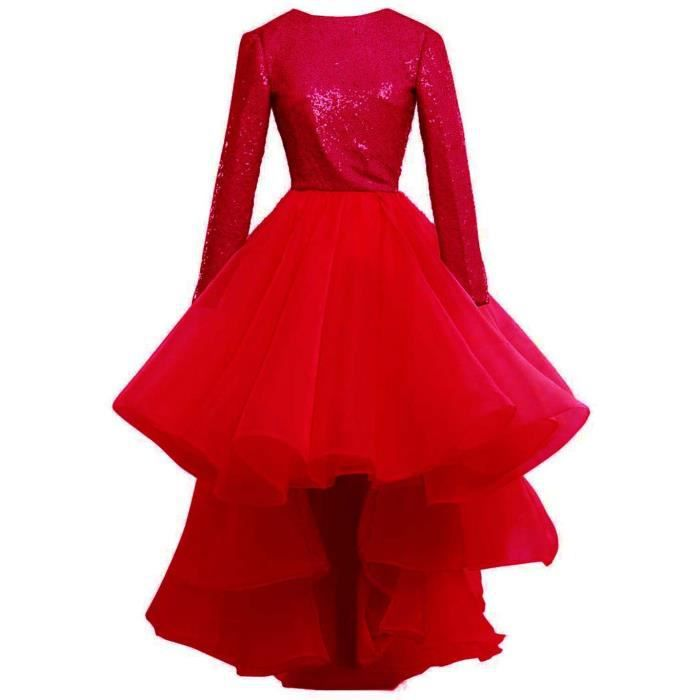 Robe rouge court