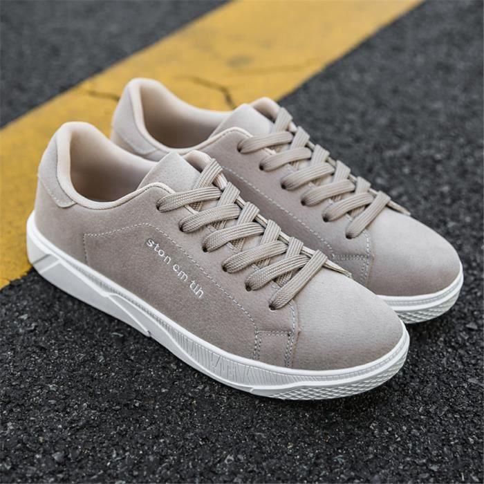44 Noir Plus Simple Luxe Respirant Marque noir De Sneakers Léger Couleur Personnalité 39 Chaussures noir Poids Hommes 60UOqAgn6