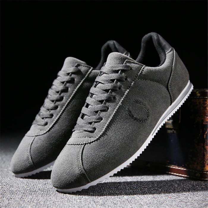 sneakers homme hiver Classique mode Haut Qualité Chaussures Couleur Unie LéGer Chaussures Classique