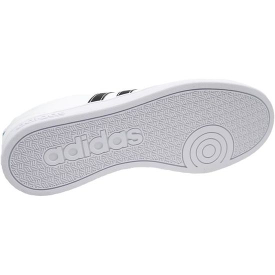 Adidas VS Advantage F99256 Homme Baskets Blanc,Noir Blanc Blanc,noir -  Achat   Vente basket - Soldes  dès le 9 janvier ! Cdiscount 7f827844fca7