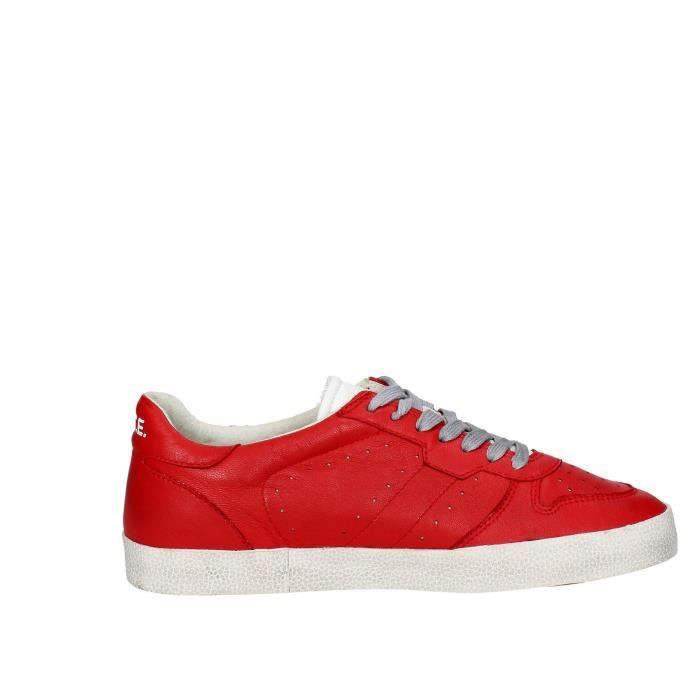 D.a.t.e. Sneakers Homme Rouge, 42