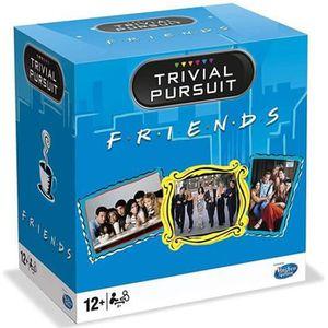JEU SOCIÉTÉ - PLATEAU TRIVIAL PURSUIT - Friends - Format de voyage 600 q