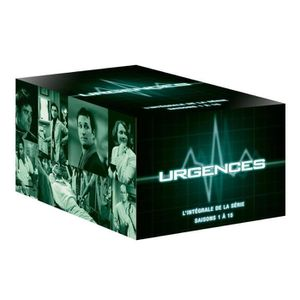 DVD SÉRIE Coffret DVD Urgences, saisons 1 à 15
