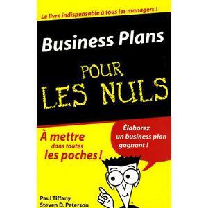 LIVRE COMPTABILITÉ Business Plans pour les Nuls