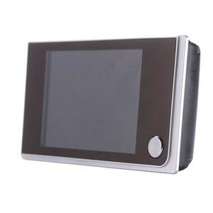 JUDAS - ŒIL DE PORTE 3.5 pouces LCD Digital Judas Viewer 120 ° porte oe