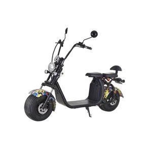 TROTTINETTE ELECTRIQUE Scooter électrique homologué EEC 1000W 12AH Graffi