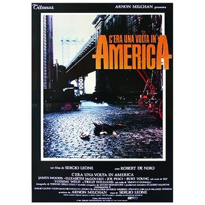 AFFICHE - POSTER Poster Once Upon A time in America