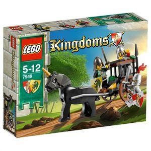 ASSEMBLAGE CONSTRUCTION Lego Kingdoms La Capture Du Soldat Du Roi