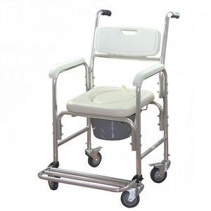 ASSISE BAIN - DOUCHE  MCTECH Chaise de toilette Fauteuil roulant de douc
