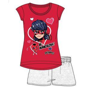 f71085972507b PYJAMA Pyjacourt MIRACULOUS LADYBUG pyjama short enfant f