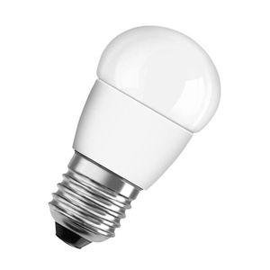 AMPOULE - LED OSRAM Ampoule Led E27 sphérique dépolie blanc chau