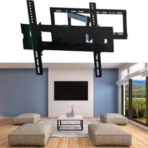 Duronic Tvb777 Support De Montage Mural Universel Inclinable