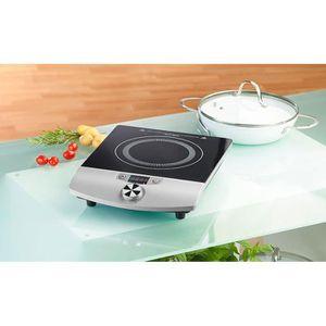 PLAQUE POSABLE Plaque de cuisson à induction 2000 W pour casserol