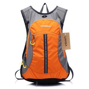 cb9e30079e Lixada Sac à dos étanche pour sport en plein air Vélo Equitation Montagne  Voyage Randonnée Camping orange mixte