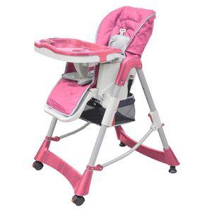 CHAISE HAUTE  Chaise haute Pliante luxe et Réhausseur bébé régla
