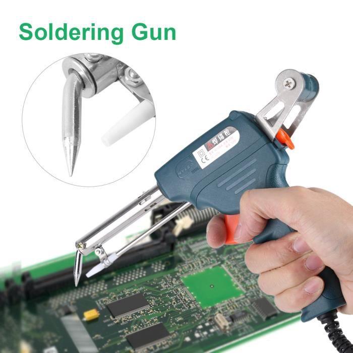 484daf9c81d17f Pistolet à souder 220 V 60 W Fer À Souder Électrique - vert noirâtre ...