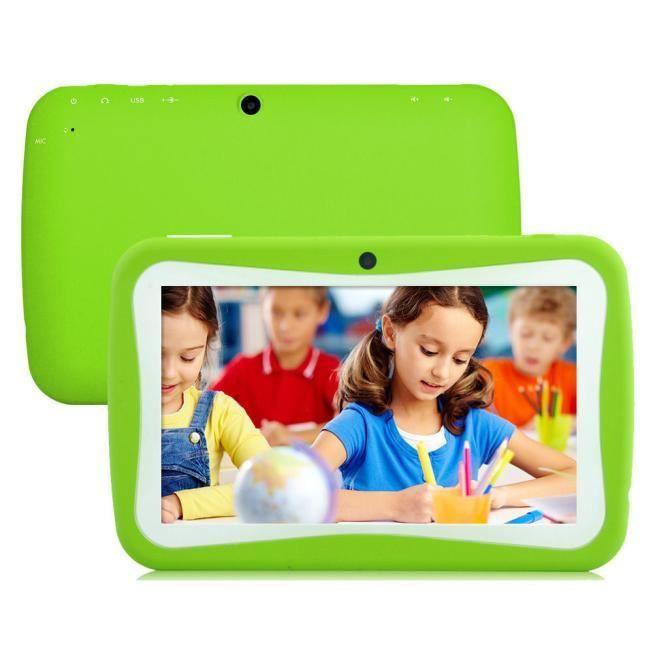 7 pouces Tablet PC Android 4.4 KitKat pour les enfants Éducation Quad Core Caméra 8 Go GN s13345