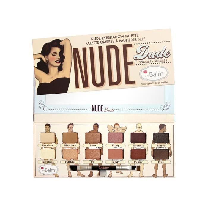 PALETTE DE MAQUILLAGE  Palette d'ombres à paupières - Nude Dude 2 - The B