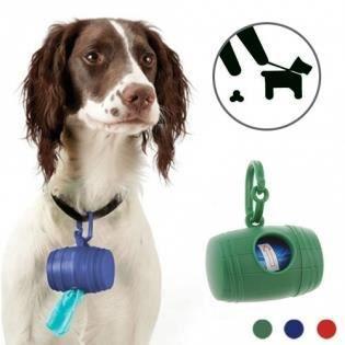 distributeur de sacs crotte pour chiens 15 sacs lot de 2 achat vente ramasse crotte. Black Bedroom Furniture Sets. Home Design Ideas
