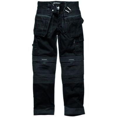 pantalon de travail multipoche noir 60 polyester achat vente v tement de protection. Black Bedroom Furniture Sets. Home Design Ideas
