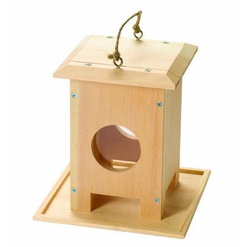 mangeoire pour oiseaux en bois construire achat vente assemblage construction cdiscount. Black Bedroom Furniture Sets. Home Design Ideas