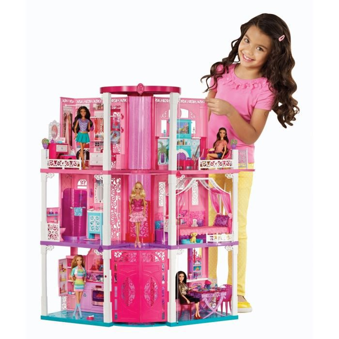 Barbie hotel particulier achat vente poup e cdiscount for Hotel barbie