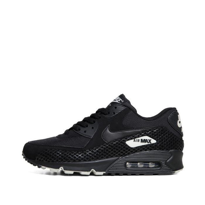 Nike Chaussures Baskets Nike Air Max 90 Premium en noir