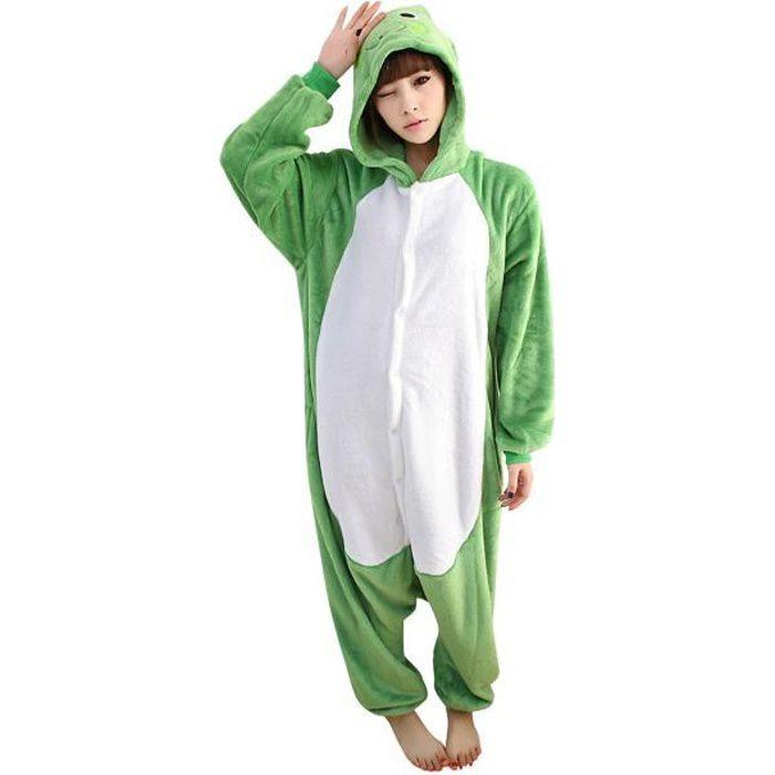 Combinaison Pyjama Femme Confortable Chaud Hiver Pilou P1HX1Zpq