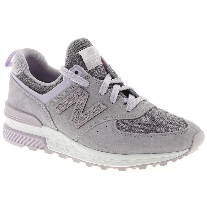76be7f689408a Baskets basses - NEW BALANCE WS574 Violet Lilas - Achat   Vente ...