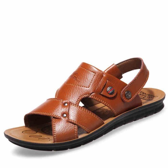 de hommes Nouveaux plein Sandal printemps sandalettes Chaussures de Casual air 6Wq4wUY