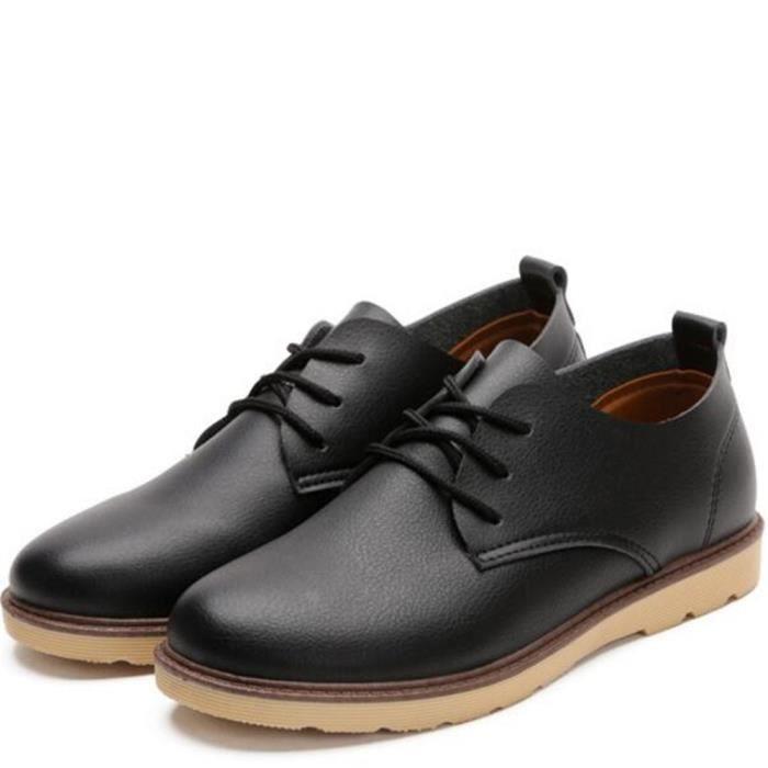 Chaussure Hommes Antidérapant En Cuir Sneaker Homme Chaussures Marque De Luxe Nouvelle arrivee Grande Taille Sneakers