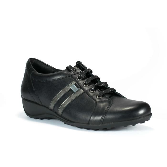 a1f384ce43ab8 MEPHISTO - LUISA - BASKETS MODE - CHAUSSURES - LACETS - CUIR VERNIS - FEMME