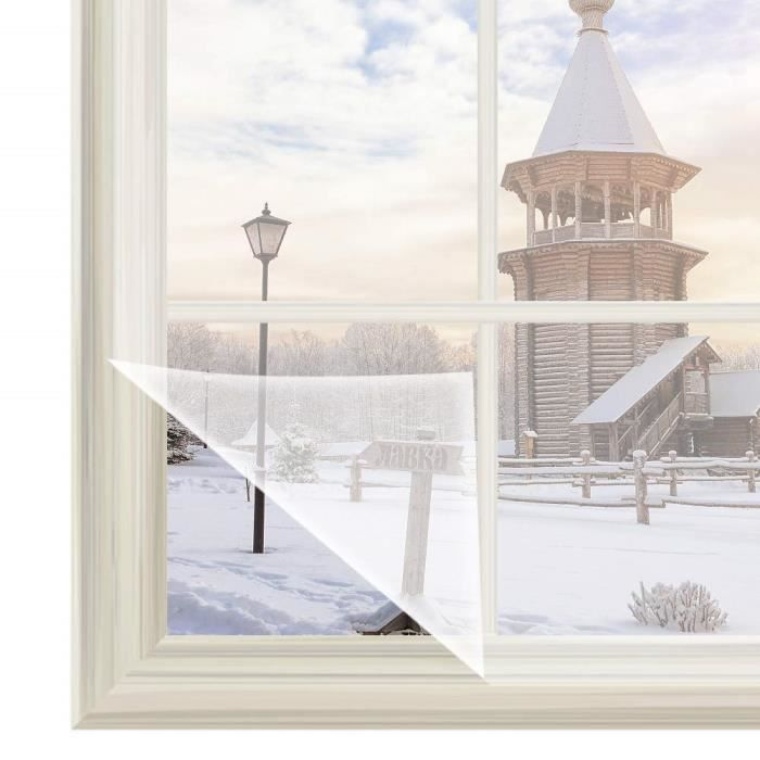 Rabbitgoo Film Isolant Thermique Pour Fenêtre Transparent