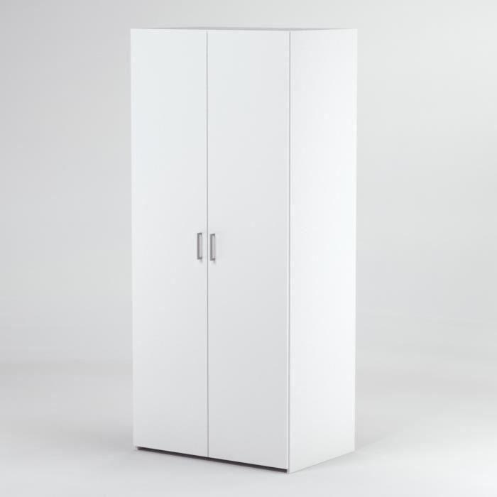 penderie largeur 60 cm achat vente penderie largeur 60 cm pas cher cdiscount. Black Bedroom Furniture Sets. Home Design Ideas