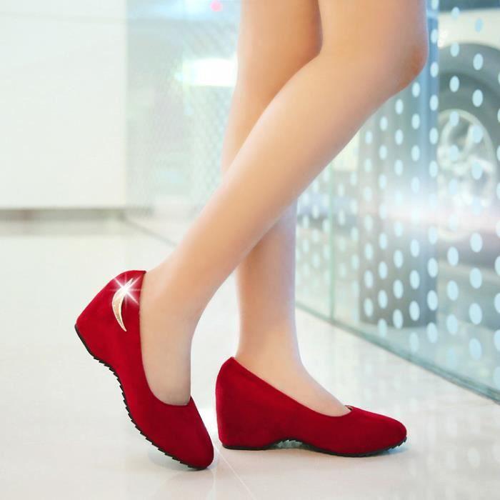 ballerine-Suede Pure Color Mocassins Ballerina ...