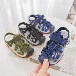 33ff5bdccb39f ... SANDALE - NU-PIEDS Enfants Sandales Bébé Garçon Chaussures Mode ...