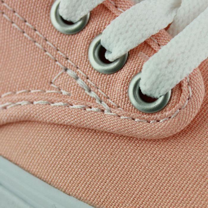 Basket Vans camden stripe stars peach nectar