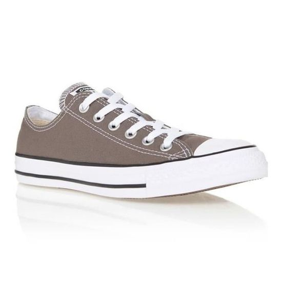CONVERSE Baskets Basses All Star Chaussures Homme  Taupe - Achat / Vente basket