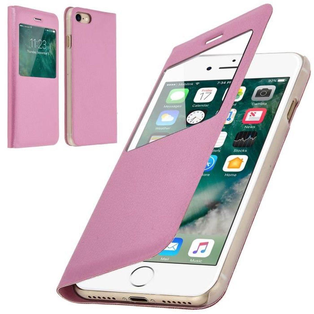 coque iphone 8 plus avec fenetre