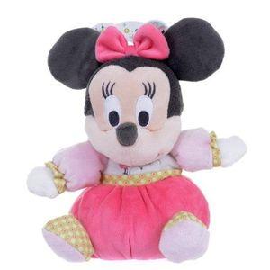 PELUCHE Disney Jolie Minnie peluche (9 pouces, Rose) LENLM