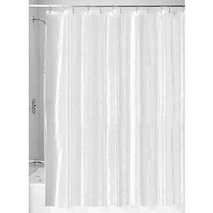 rideau de douche pvc transparent achat vente rideau de douche pvc transparent pas cher. Black Bedroom Furniture Sets. Home Design Ideas