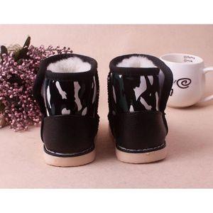 BOTTE Bébé d'hiver Garçon Fille Chaussures en cuir pour